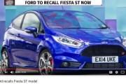 Ford recalls Fiesta ST model