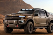 2017 Chevrolet Colorado ZH2 Fuel Cell Vehicle