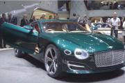 Bentley Hybrid First TV Commercial Bentley EXP 10 Speed 6