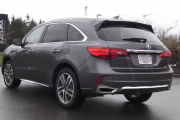 2017 Acura MDX Hybrid Sneak Peek Review: A Sporty Hybrid?