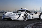 The 2020 Porsche 911 GT1 Render From Piesert Design