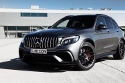 The New Mercedes AMG GLC63 Is Now Powered by A V8 Engine