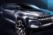 Jeep Yuntu Concept Official Sketches Revealed officially launch at 2017 Shanghai moter show