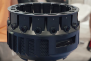 The YI HALO Camera Rig Shoots 8K x 8K Stereographic Video