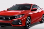 2017 Honda Civic Si Coupe & Sedan