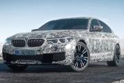 2018 BMW M5 teaser
