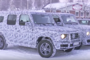 2018 Mercedes-Benz G-Class Spied Testing During Winter