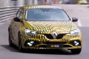 Renault Mégane 4 RS (2017) à fond sur le circuit F1 de Monaco