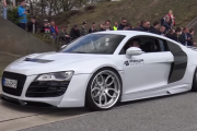 PRIOR DESIGN Audi R8 PDGT850 - Revs, Drag Race & More!