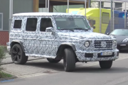 2019 Mercedes G-Wagon spied testing at the Nürburgring