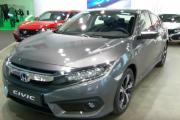 2018 Honda Civic Sedan - Exterior and Interior - Automobile Barcelona 2017