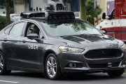 Uber Autonomous Self-Driving Car Fails to Stop and Hits a Pedestrian on the Road