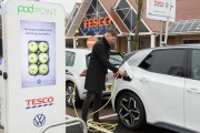 Watch out Volkswagen upping the ante by installing charging stations at 600 Tesco stores for free