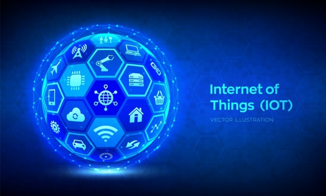 IOT. Internet of things concept.