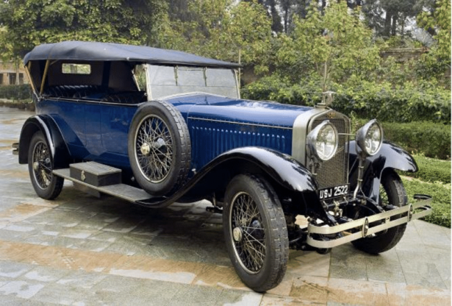 French Cars Featured in Sudhir Choudhrie's Vintage Collection