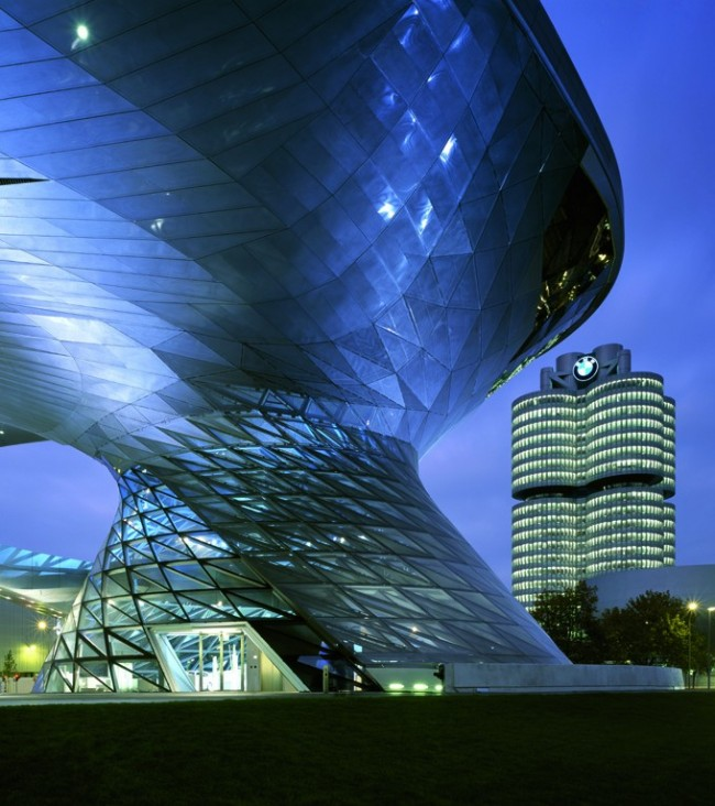 BMW Welt Exterior View