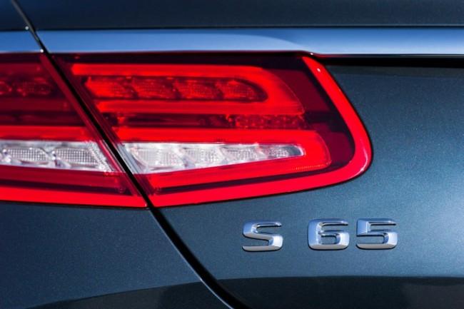 2015 Mercedes-Benz SL65 AMG Coupe.