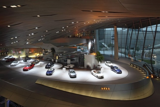 BMW Welt Interior View