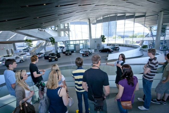 BMW Welt Guided Tours