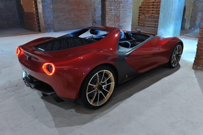 Ferrari Sergio rear exterior