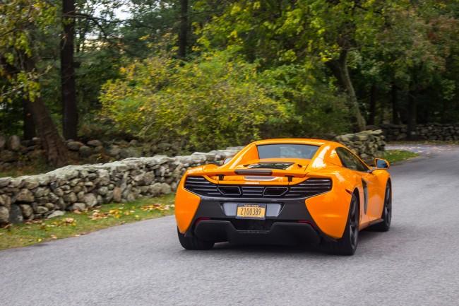 2015 McLaren 650S rear motion