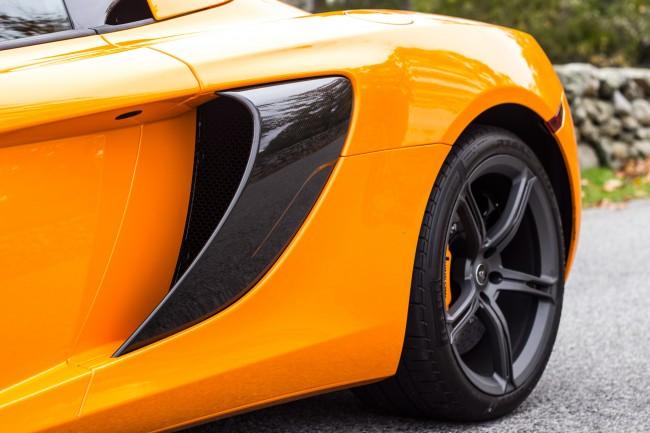 2015 McLaren 650S blade