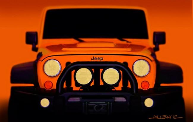 Jeep® Wrangler Traildozer concept