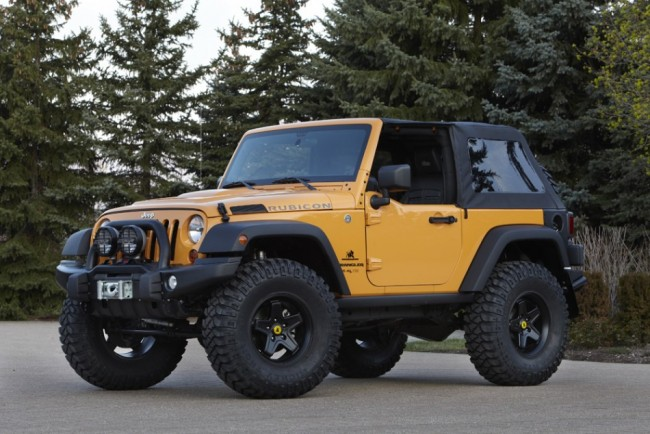 Jeep Wrangler Traildozer