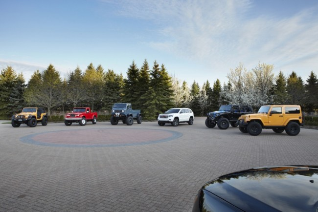 Jeep and Mopar Unveil Six New Vehicles for Moab